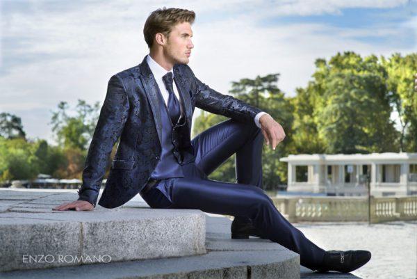 Elegir un traje de novio Enzo Romano